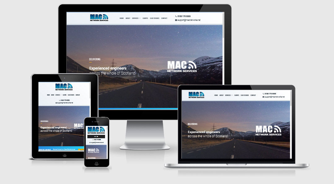 MAC Network Services | Stirling IT Web Design
